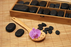 Stones for massage Royalty Free Stock Photo