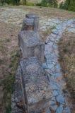 Stones at Memorial Park Hisar in Leskovac. Memorial Park on the hill called Hisar in Leskovac Royalty Free Stock Images