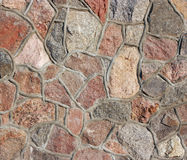 Stones mosaic. Granite and marble. Royalty Free Stock Images