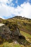 Stones and mountain Royalty Free Stock Photo