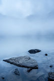 Stones in mountain lake Royalty Free Stock Photography