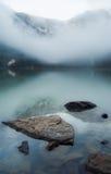 Stones in mountain lake Royalty Free Stock Image