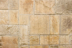 Free Stones Mounted In Wall From Concrete Stock Photography - 13558332