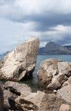 Stones Near Sea Royalty Free Stock Image