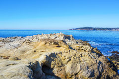 Stones ocean beach Royalty Free Stock Photography