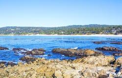 Stones ocean beach Royalty Free Stock Photo