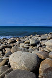 Stones by The pacific ocean taiwan Royalty Free Stock Image