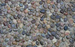 Stones pattern, background. Stock Photography
