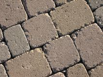 Stones pavement - detail Royalty Free Stock Photo