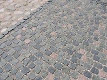 Stones pavement texture Stock Photography