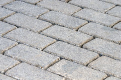 Stones paving background Royalty Free Stock Image
