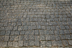 Stones paving the old texture background Stock Photography