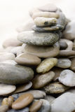 Stones and pebbles piled up Royalty Free Stock Photos