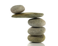 Stones in perfect balance Royalty Free Stock Photo
