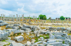 The stones of Perge Royalty Free Stock Images