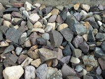 Stones. Picture of some stones near my house Royalty Free Stock Photography