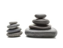 Stones pile, zen style Royalty Free Stock Image
