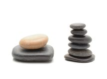 Stones pile, zen style Stock Photos
