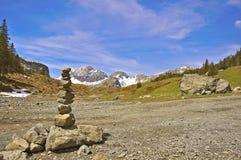 Stones pyramid Royalty Free Stock Photos
