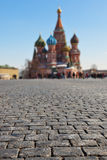 Stones on Red square, Moscow Royalty Free Stock Photography