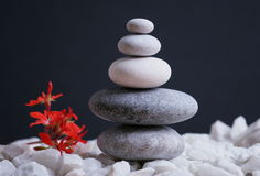 Stones with Reiki energy stock photography