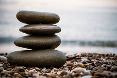 Stones relaxation Stock Photo
