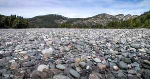 The stones on river Bank. The stones on the river Bank Royalty Free Stock Photos