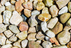 Stones on river bank Royalty Free Stock Photography