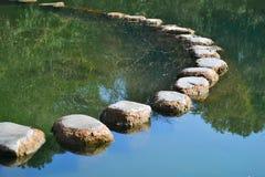 Stones in river Stock Photo