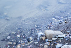 Stones and rocks on a beach Stock Photography
