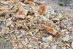 Stones and rocks Royalty Free Stock Photography