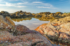 Stones, Rocks, Sand Royalty Free Stock Photography