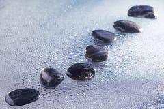 Stones in row Stock Photo