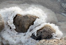 Stones and salt Royalty Free Stock Image