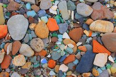 Stones and sand Royalty Free Stock Image