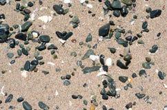 Stones on sand Royalty Free Stock Photo