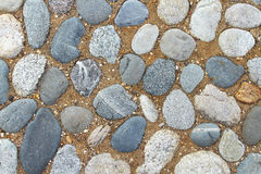 Stones and sand Stock Photography