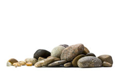 Stones scattering Royalty Free Stock Images