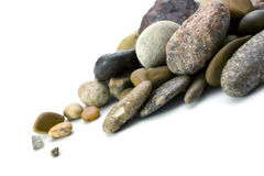 Stones scattering Royalty Free Stock Photography
