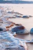Stones in sea Stock Image