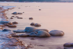 Stones in sea Stock Photography