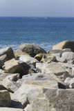 Stones and sea Royalty Free Stock Photos