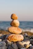 Stones on the sea Stock Image