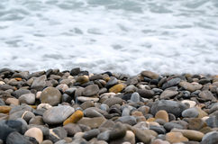 Stones and the sea Royalty Free Stock Image