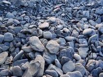 Stones on sea-shore Royalty Free Stock Photography