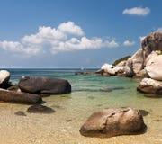 Stones and sea, Thailand Stock Photo