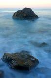 Stones in sea water Stock Photos