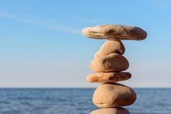 Stones on the seashore Stock Photo