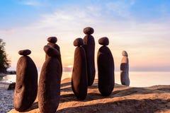 Stones on the seashore Stock Photography