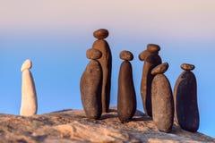 Stones on the seashore Royalty Free Stock Photo